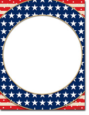 Paper So Pretty - Blank Designer Papers (American Patriotism) (DP1047)